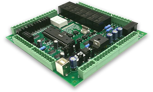 Compact and low cost lift controller board